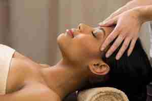 Crown Chakra Head Scalp Neck Shoulders Spa Massage Dallas TX